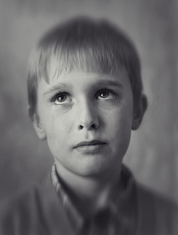 tiny tears I - eerste van m'n nieuwe serie 'tiny tears'