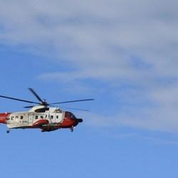 coastguard rescue helicopter