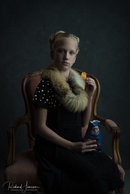 Chips - Gemmy Woud-Binnendijk Workshop &quot;3 Skills in 1 Day&quot;<br /> Photography: Richard Janssen | DwarszKijken<br /> Model: Meijs<br /> MUA