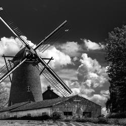 Windmolen in Nuth tijdens de molendagen.