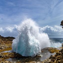 Fonteinen van zeewater