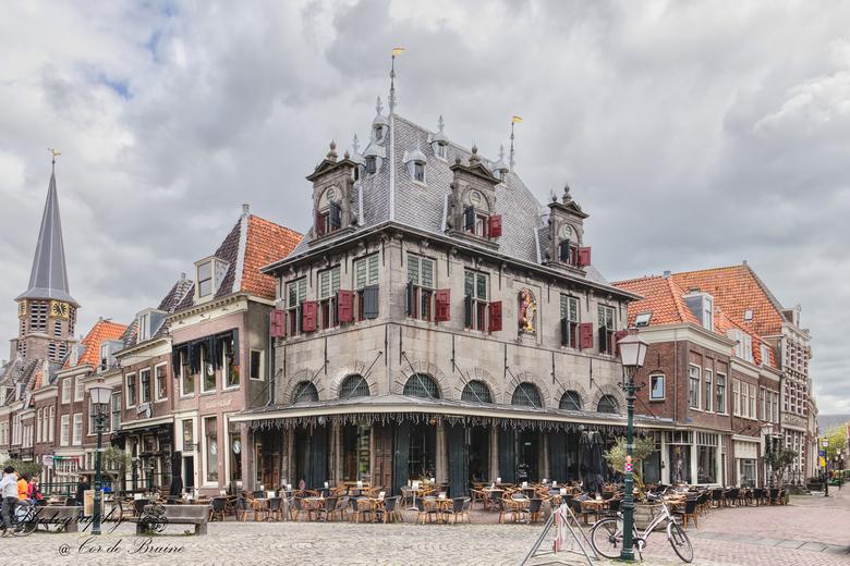 Restaurant d'Oude Waeg in Hoorn - Eens even wat anders van mijn kant. Heb onlangs een bezoekje gebracht in Hoorn. <br /> Op deze foto Restaurant d&#0