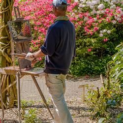 Stapje terug.................Rododendron schilder voor Rob (Rob1951)