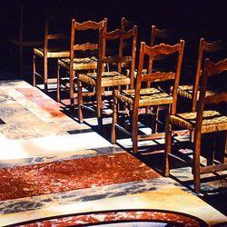 Kerkstoelen, Rome, 1990