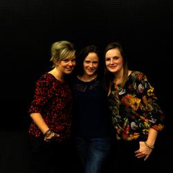 Drie limburgse zangeressen.