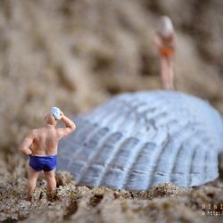 Mini - At the beach