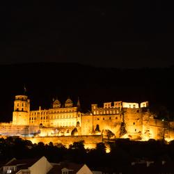 Heidelberg avondfotografie