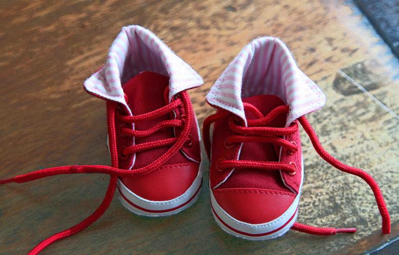Mijn eerste schoentjes - De eerste schoentjes van mijn kleindochter.