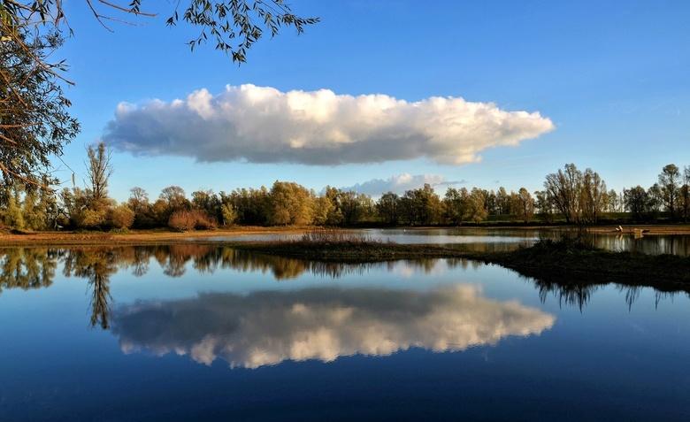 DSC_8304b-01-01 - Foto gemaakt in natuurgebied bij Pannerden. Voor mijn gevoel op het juiste moment op de juiste plaats.