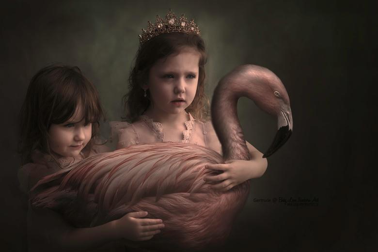 Flamingo sisters - Weer een foto van mijn Flamingo serie. Dit begint inmiddels een aardige collectie te gaan worden.