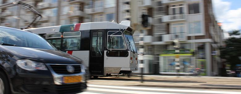"""Race de tram - """"Race tegen de tram"""""""