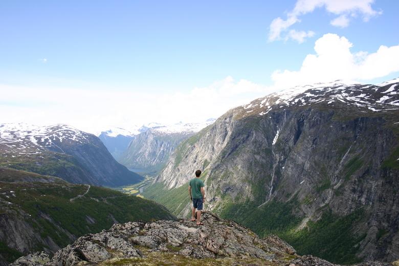 Noorwegen uitzicht - Uitzicht