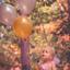 Prinsesje met ballonnen