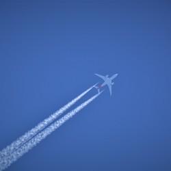 Het is een vliegtuig