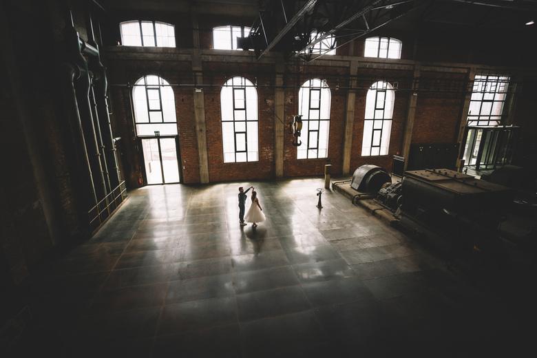 Factory wedding