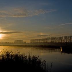 De oude IJssel op een vrijdagochtend