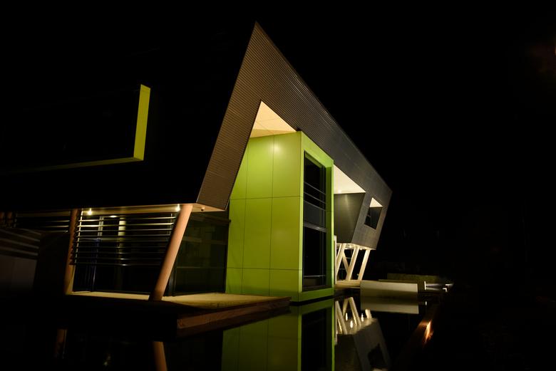 Architectuur - Ton Lawant Lichtenvoorde - Architectuur Nachtfotografie Kantoorpand