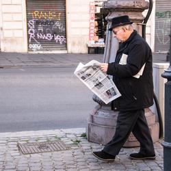 Op straat in Rome