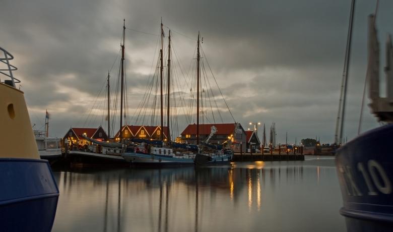Haven van Oudeschild op Texel.