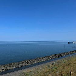 Noordzee Afsluitdijk.