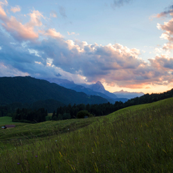 Beautiful Bavarian Sunset
