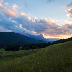 Beautiful Bavarian Sunset