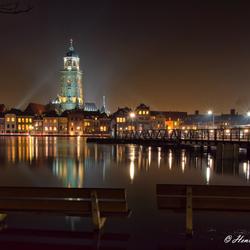 Avond Deventer (Hoogwater)