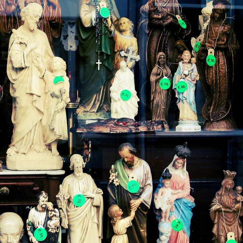 jesus for sale - het christendom in de uitverkoop?
