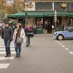 Parijs - Place de l'Opéra - Citroën 2CV - 02