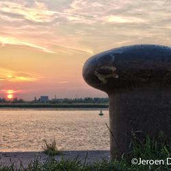 Antwerpse zonsondergang