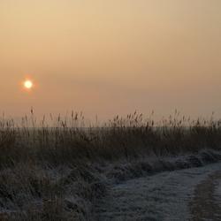 Een koude ochtend in februari