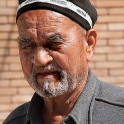 Man uit Oezbekistan