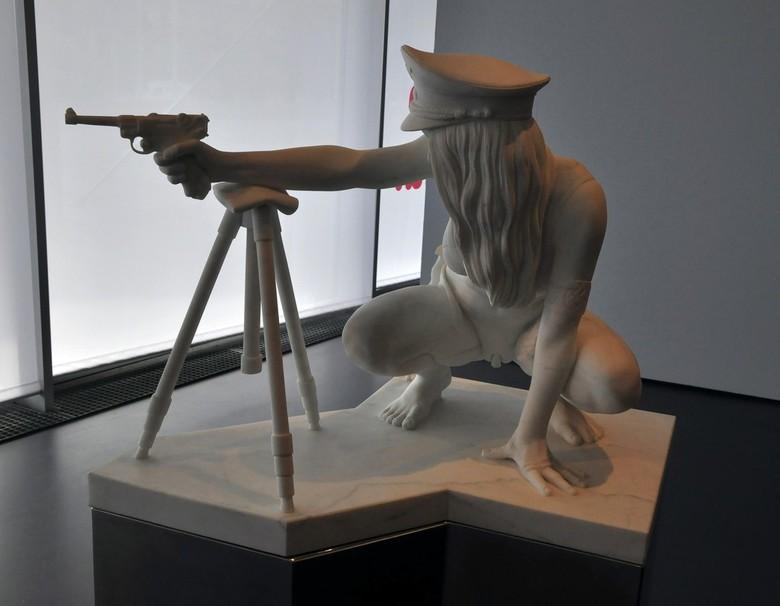 _DSC0047 - Sinds de jaren 1960 en 1970 houden kunstenaars zich vanuit verschillende invalshoeken bezig met een vorm van figuratieve kunst waarbij de m