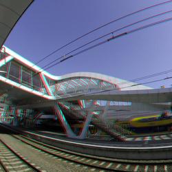 railway-station Arnhem 3D GoPro