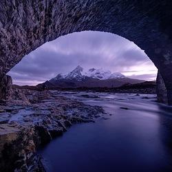Sligachan Old bridge, Schotland