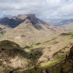 Gran Canaria 7 - prachtig uitzicht vanaf Degollada de La Yegua
