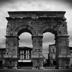 De boog van Germanicus in Saintes.