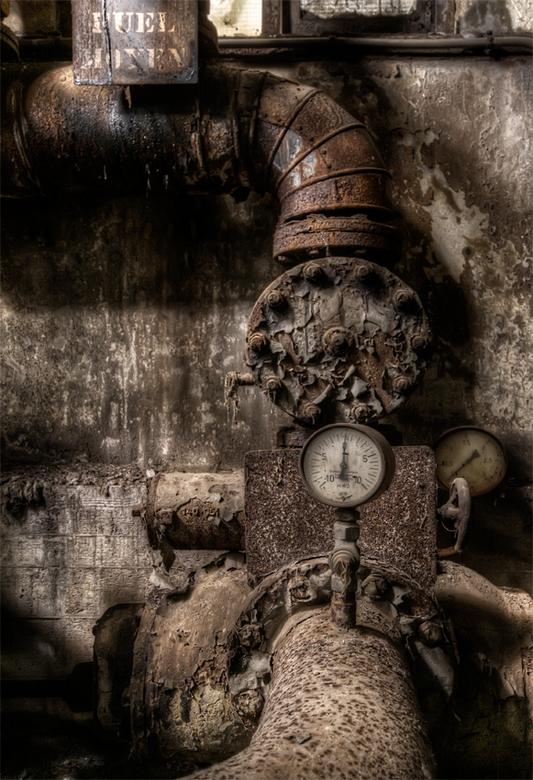 meten is weten ... - oud buizenstelsel in boerenwoning Luxemburg