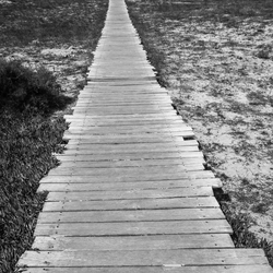 Oneindige weg