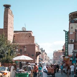 Straten van Marrakech