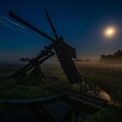 Tjasker in het maanlicht