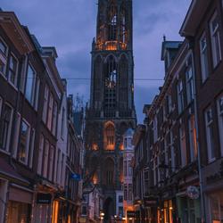 Utrecht in het blauwe uurtje!