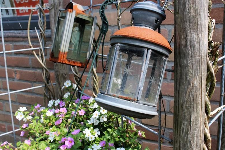 Oude lampen -