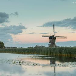 Sweet sunset Kinderdijk