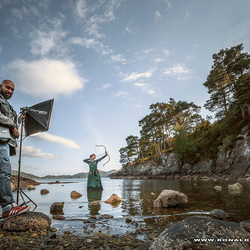 Behind the scene @ our 3 days during Norway-Viking masterclass experience .... :)