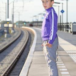 Wacht u op de trein?