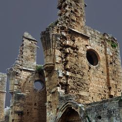 ruine van gothische kerk