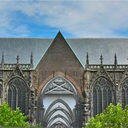 Zicht op de Domkerk
