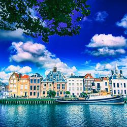 Historische skyline Maassluis