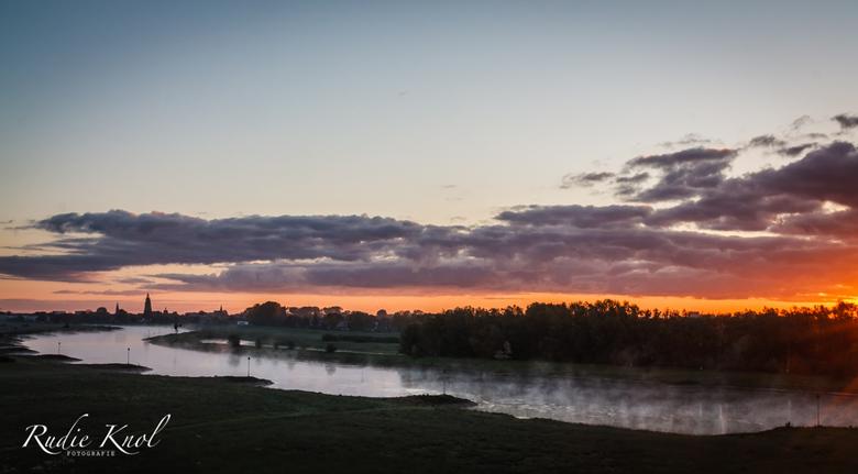 zonsopkomst Zutphen  -